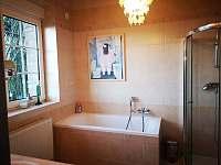 Koupelna - chata k pronajmutí Přední Výtoň