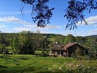 Zahrada - chata ubytování Přední Výtoň