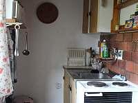 Náhled na jednu stranu kuchyně.