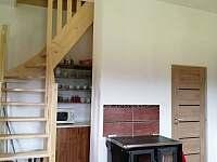 Hlavní místnost - chalupa ubytování Stachy