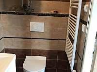 Koupelna - chalupa k pronájmu Stachy