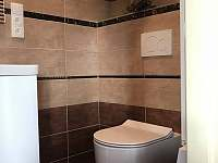 Koupelna - chalupa k pronajmutí Stachy