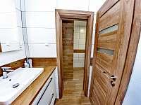 Horský dům - koupelna - chalupa ubytování Železná Ruda