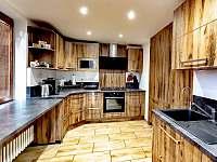Horský dům - kuchyn - chalupa ubytování Železná Ruda
