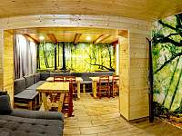 Horský dům - společenská místnost - chalupa k pronájmu Železná Ruda