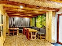 Horský dům - společenská místnost - chalupa k pronajmutí Železná Ruda