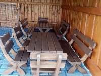 K zapůjčení gril či možnost posezení u otevřeného ohniště - pronájem roubenky Hlavňovice