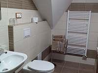 Pokoj 1 - koupelna - srub k pronájmu Hlavňovice