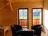 Pokoj 2 - velký pokoj s balkonem - pronájem srubu Hlavňovice
