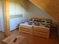 Pokoj 3 - dvoulůžkový pokoj s koupelnou - Hlavňovice
