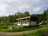Chata k pronajmutí - dovolená  Myslívský rybník rekreace Hnačov