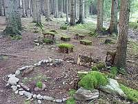 Lesní městečko (nad chalupou)