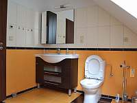 koupelna - umyvadlo a WC - apartmán k pronájmu Lipno nad Vltavou
