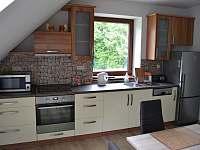 kuchyň s jídelnou - apartmán k pronajmutí Lipno nad Vltavou