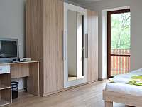 ložnice 1 - apartmán ubytování Lipno nad Vltavou