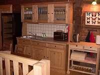 Kuchyňka v patře