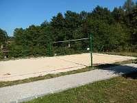 Beach volejbal u koupaliště