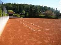 Vlastní tenisový kurt..