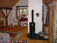 ložnice - chalupa ubytování Budilov