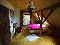 pokoj 1 patro - pronájem chalupy Budilov