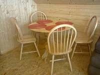 dřevěný pokoj
