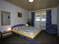 Ložnice - apartmán ubytování Borová Lada