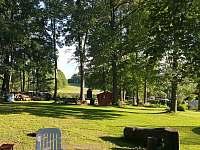 Zahrada - pronájem chaty Křišťanovice