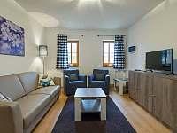 Obývací pokoj - apartmán ubytování Nová Pec - Nové Chalupy