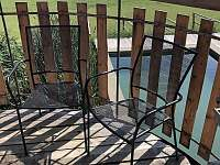 pivoňkový apartman-pohled z balkonu - Letiny