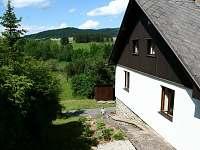 chata na Lipně - pohled od chaty