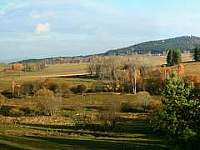 chata na Lipně - pohled z okna