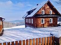 Chalupa k pronajmutí - zimní dovolená Hojsova Stráž