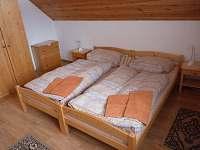 Chalupa - ložnice v podkroví