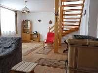 Chalupa - obývací pokoj
