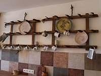 kuchyně apartmánu Provence - chalupa k pronajmutí Kašperské Hory - Trnov