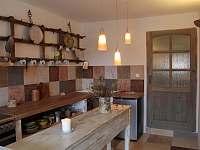 kuchyně apartmánu Provence - Kašperské Hory - Trnov