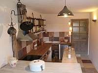 kuchyně apartmánu Provence - pronájem chalupy Kašperské Hory - Trnov