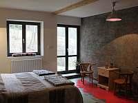 ložnice apartmánu Provence - chalupa k pronajmutí Kašperské Hory - Trnov
