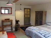 ložnice apartmánu Provence - chalupa k pronájmu Kašperské Hory - Trnov