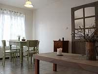 obytná místnost apartmánu Provence - chalupa ubytování Kašperské Hory - Trnov