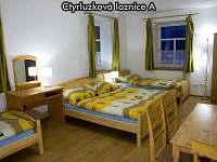 Čtyřlůžková ložnice A - apartmán k pronájmu České Žleby