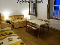 Čtyřlůžková ložnice C - apartmán ubytování České Žleby