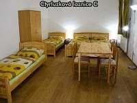 Čtyřlůžková ložnice C - apartmán k pronájmu České Žleby