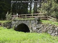Most přes Mechový potok (CZ / D) - apartmán k pronajmutí České Žleby