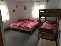 Ubytování na Slučím Tahu - čtyřlůžkový apartmán