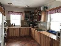 Kuchyně - pronájem chalupy Nový Dvůr