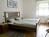 malá ložnice, dvojlůžková