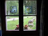 pohled z okna - Čeňkova Pila