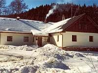 zima - chalupa ubytování Čeňkova Pila