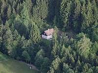 Hájovny poblíž Werichovy chaty Velhartice - chalupa ubytování Velhartice